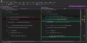 3. diff-view visual studio